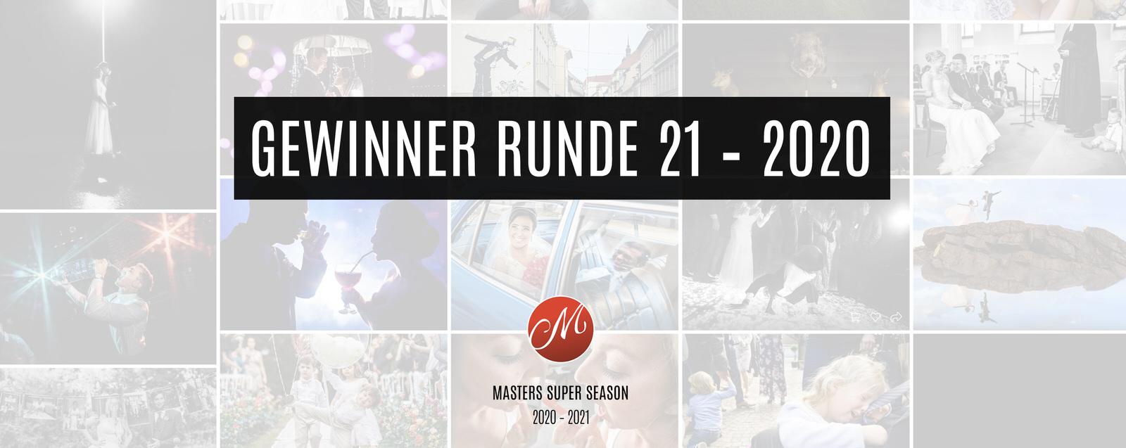 Gewinner Masters Runde 21 – 2020