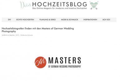 Deinhochzeitsblog.com Über Die Masters